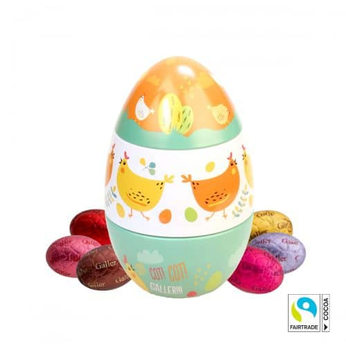 Galler Fairtrade chocolate eggs