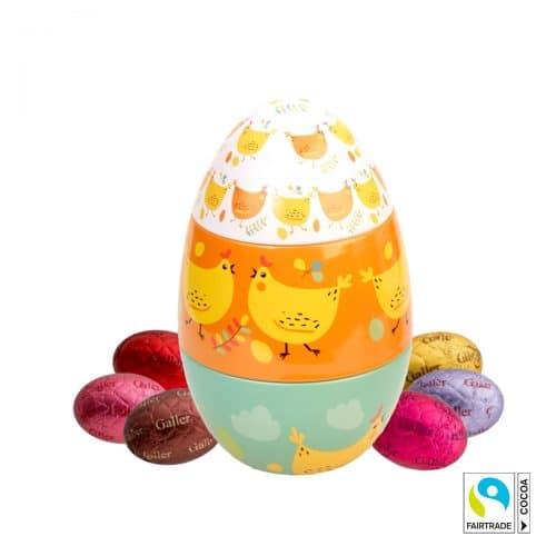 Galler Fairtrade chocolate eggs